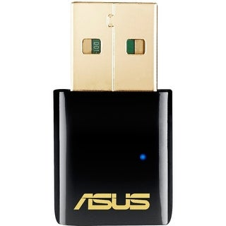 """""""Asus USB-AC51 USB Wi-Fi Adapter Asus USB-AC51 IEEE 802.11ac - Wi-Fi Adapter for Desktop Computer/Notebook - USB - 433 Mbit/s -"""
