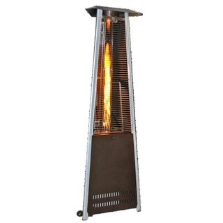 Sunheat PHTRGH 40,000 BTU Golden Hammered Finish Propane Patio Heater - golden hammered fini