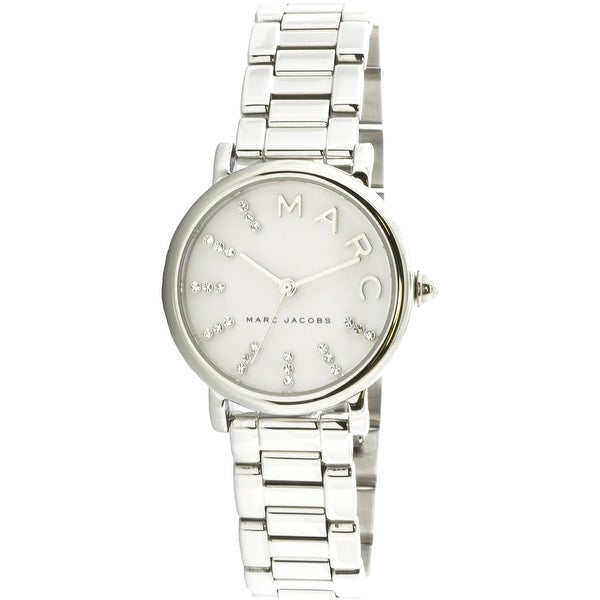 Marc Jacobs Bracelet for Women, Silver, Stainless Steel, 2017, One Size