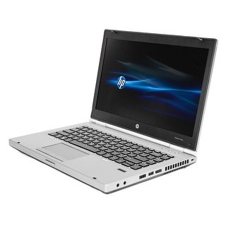 HP EliteBook 8470P 14-inch display, 2.6GHz Core i5 CPU, 4GB RAM, 320GB HDD, Windows 10 Laptop (Refurbished)