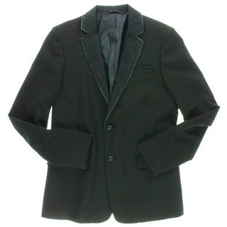 Diesel Mens Denim Collar Casual Sportcoat