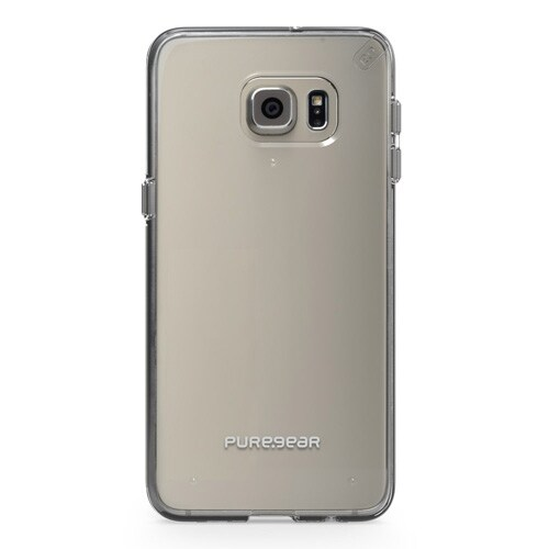 PureGear Slim Shell Case for Samsung Galaxy S6 Edge+ - Clear/Clear