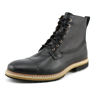 Timberland West Haven City Sidezip Men  Round Toe Leather Black Boot