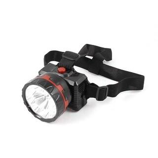 Unique Bargains AC 110V-240V US Plug Rechargeable 3 Modes White 9LED Light Headlamp