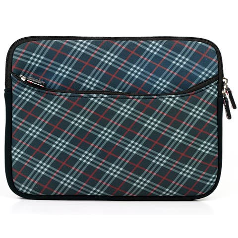 Portfolio Case Sleeve Unique Design Checker for Apple iPad