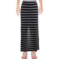 Michael Stars Womens Juniors Hampton Maxi Skirt Casual Full-Length