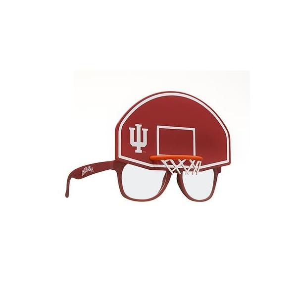 763e9e3c RicoIndustries SUN200101BK Indiana Basketball Novelty Sunglasses