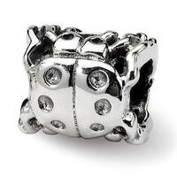Sterling Silver Reflections Ladybug Bead (4mm Diameter Hole)