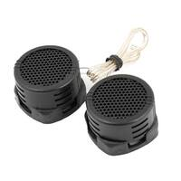 Unique Bargains 2 PCS DC 2.8V 500W Plastic Pre-wired Dome Tweeters Speakers for Auto Car