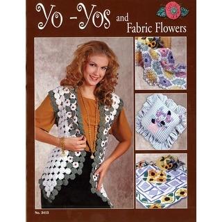 Design Originals-Yo-Yos And Fabric Flowers
