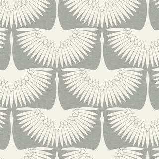 Link to Feather Flock Peel and Stick Wallpaper Similar Items in Wall Coverings