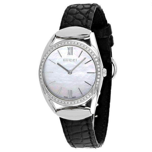 2f82a6ff855 Shop Gucci Women s Horsebit - YA140506 Watch - Free Shipping Today -  Overstock - 27879888