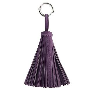 Mad Style Purple Jumbo Tassel Key Chain