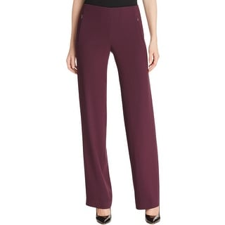 Elie Tahari Womens Odette Dress Pants Stretch Crepe
