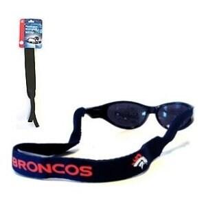 Denver Broncos Navy Blue Neoprene Retainer Sunglasses Holder - One size