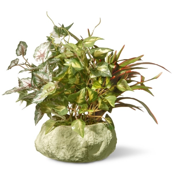 """10"""" Potted Leafy Plant - N/A"""