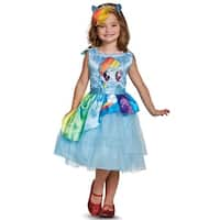 Disguise Rainbow Dash Movie Classic Toddler/Child Costume - Blue