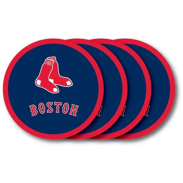 Boston Red Sox Coaster Set - 4 Pack