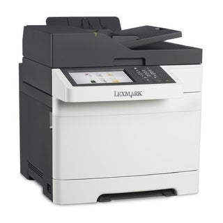 Lexmark Cx517de Color All-In One Laser Printer With Scan, Copy, Network Ready, Duplex Printing And Professional Features