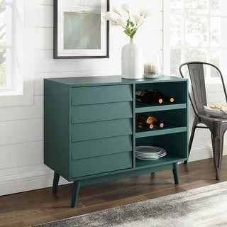 Link to Carson Carrington Louvered Door Bar Cabinet Similar Items in Home Bars
