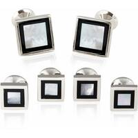 Framed Mother Of Pearl Onyx Formal Set