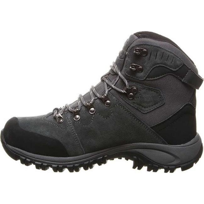 b1aa1266863 Bearpaw Men's Traverse Solids Waterproof Hiking Boot Charcoal Suede/Nylon