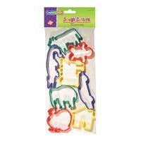 (6 St) Dough Cutters - 8 Animals Per Pk