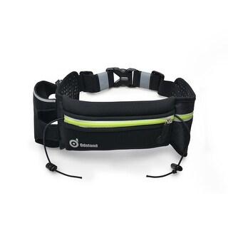 ODOLAND Sport Running Belt Extra Extension Belt w/ One Water Bottle Holder + Large Pouch