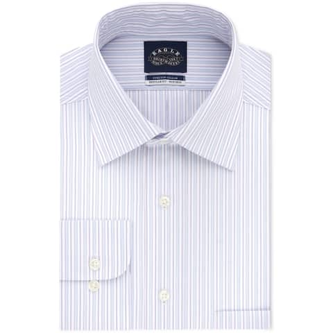 Eagle Mens Classic Regular Fit Button Up Dress Shirt