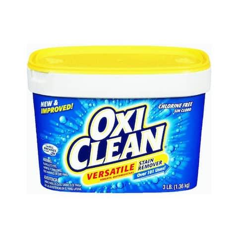 OxiClean 51523 Multi-Purpose Versatile Stain Remover, 3 Lb
