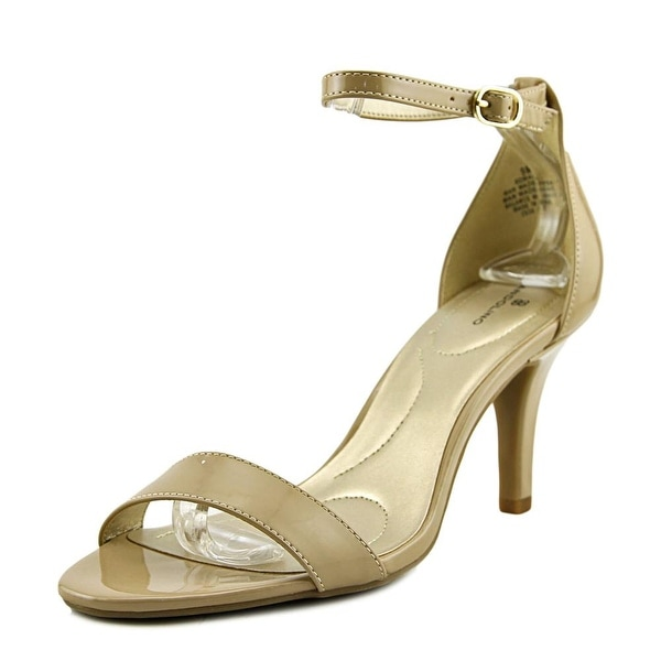 dc7a7fff84eb Shop Bandolino Madia Women Open Toe Synthetic Nude Sandals - Free ...