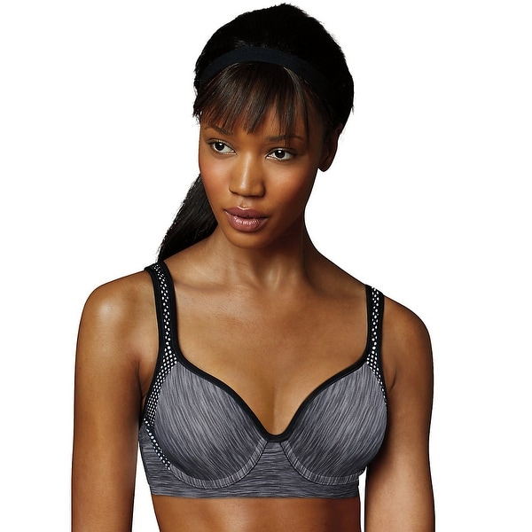 51b6a64ca4299 Maidenform Sport Custom Lift Underwire Bra - Size - 38D - Color - Charcoal  Heather