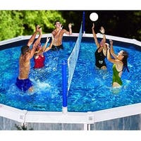 Swimline Cross Pool Volleyball Game For In Ground Swimming Pools Free Shipping Today