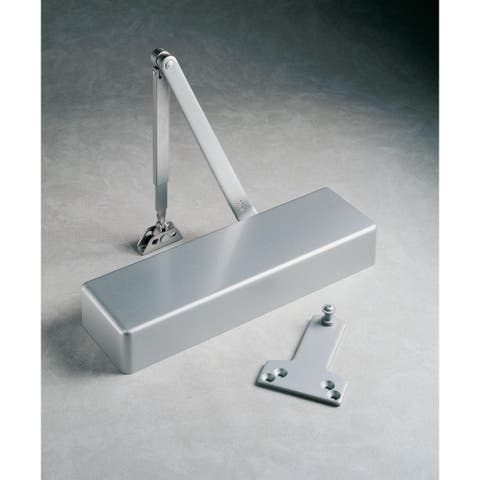 Norton 7500H ADA Compliant Adjustable Spring Sizes 1-6 Institutional Hold Open Door Closer with Slim Cover from the 7500 Series