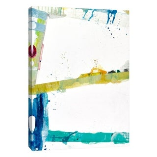 """PTM Images 9-108498  PTM Canvas Collection 10"""" x 8"""" - """"Jubilee 1"""" Giclee Abstract Art Print on Canvas"""