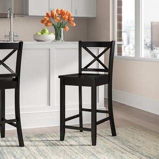 Link to Copper Grove Amravati Black Counter Height Stool Similar Items in Dining Room & Bar Furniture