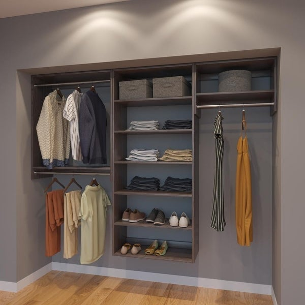Shop Modular Closets 8ft Closet Organizer System 96 Inch
