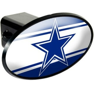 Great American Products Dallas Cowboys Oval Trailer Hitch Cover Oval Trailer Hitch Cover