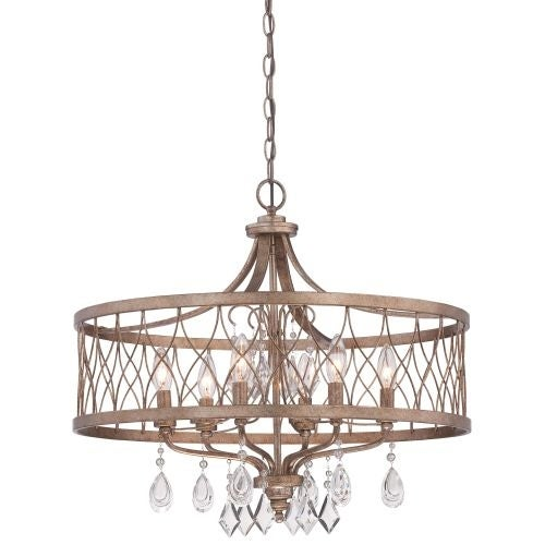 Minka Lavery 4406-581 6 Light Single Tier Chandeliers from the West Liberty Collection