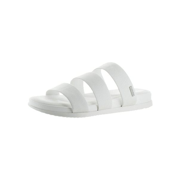 Calvin Klein Womens Dalana Slide Sandals Open Toe Strappy
