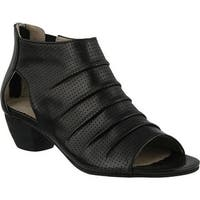 Spring Step Women's Avidra Bootie Black Leather
