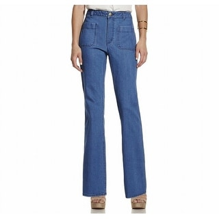 Vince Camuto NEW Blue Women's Size 10X32 Flare Pocket-Front Jeans