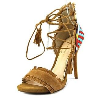 Jessica Simpson Basanti Women Open Toe Suede Sandals
