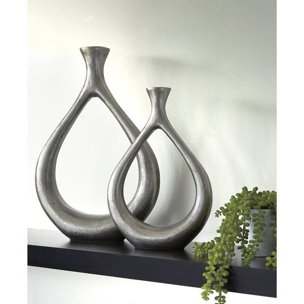 Dimaia Contemporary Vase - Set of 2. Opens flyout.