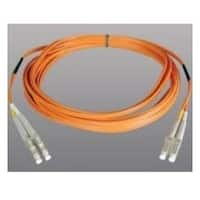 Tripp Lite Duplex Multimode 50/125 Fiber Patch Cable 50/125 LC/LC 2m Orange