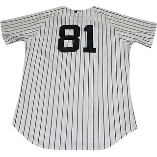 buy online 8eb80 c61d6 Ramon Flores Jersey NY Yankees 2014 Spring Training Opening Day Game Used  81 Pinstripe Jersey 000 | Overstock.com Shopping - The Best Deals on ...