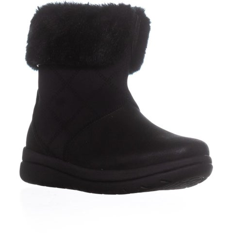 Clark Cabrini Reef Lined Booties, Black - 9.5 US / 41 EU
