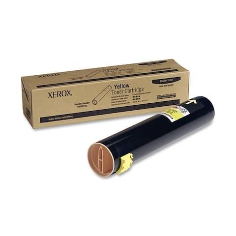 Xerox 106r01162 yellow toner cartridge, phaser 7760, 106r01162