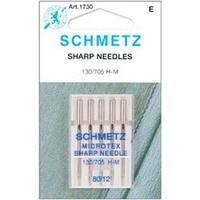 Size 12/80 5/Pkg - Microtex Sharp Machine Needles