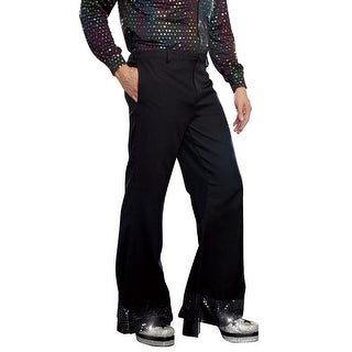 Dreamgirl Men's Disco Pants - Black